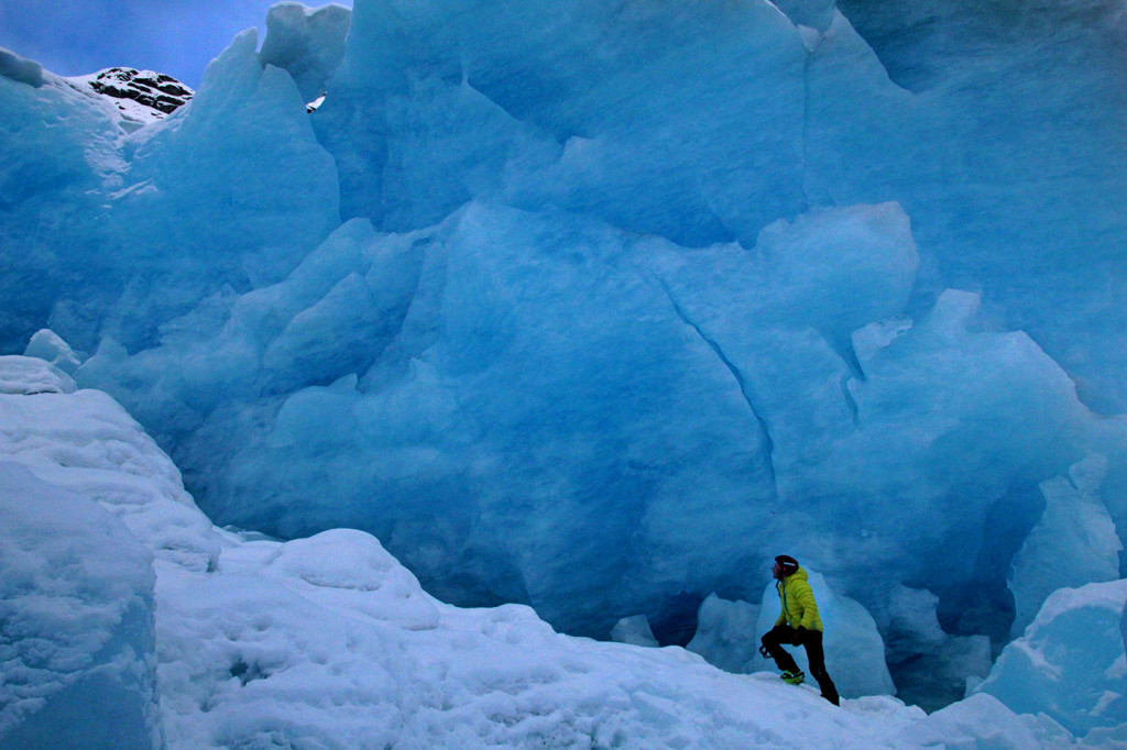 ice climbing chillup guide glacier
