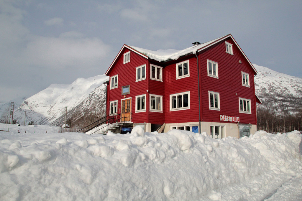 winter lodge Norway