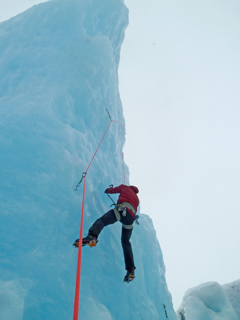 chillup guide ice climbing courses