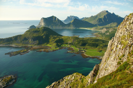 Climb The Lofoten Islands in July