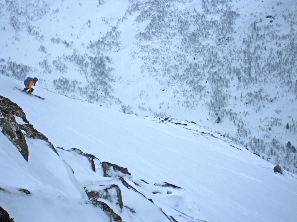 Myrhønna, ski tour