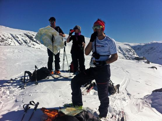 Ski touring Vetle Geisdalen, Norway