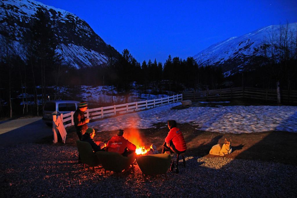 Winter in Jostedalen