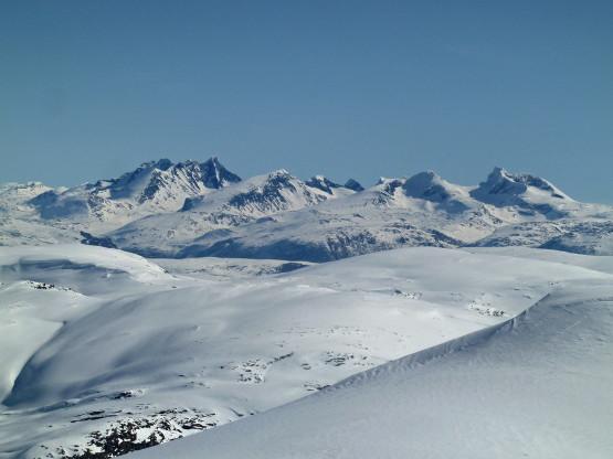 Linked ski tour Vanndalen, Norway