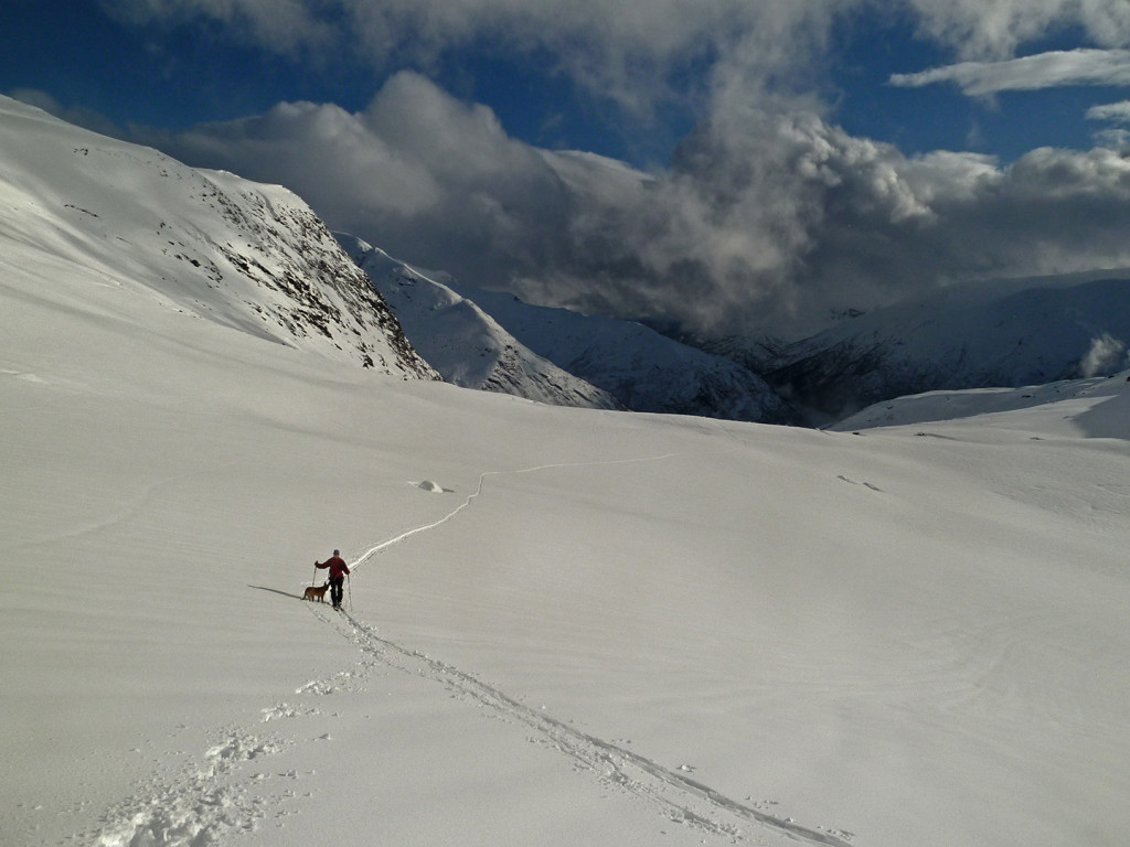 Vetle Geisdalen, ski touring in Norway with mountain guide
