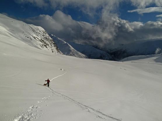 Vetle Geisdalen ski touring, Norway