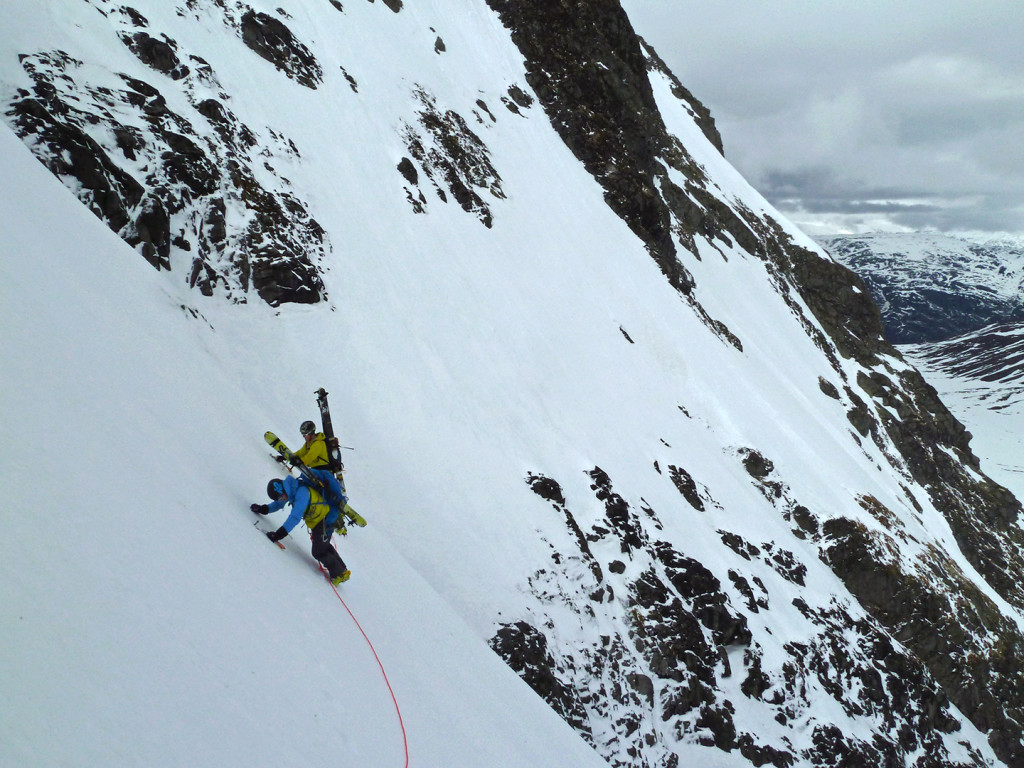 West Jotunheimen. Chillup Guide. Steep skiing