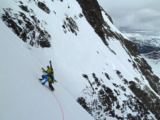 Hurrungane (West Jotunheimen, Norway) – steep skiing