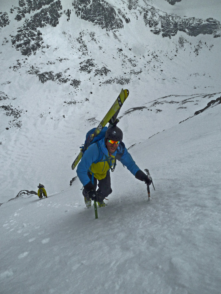 Hurrungane steep skiing