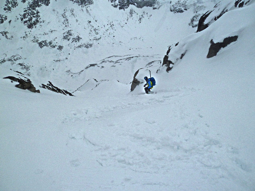 West Jotunheimen. Chillup Guide. Steep skiing