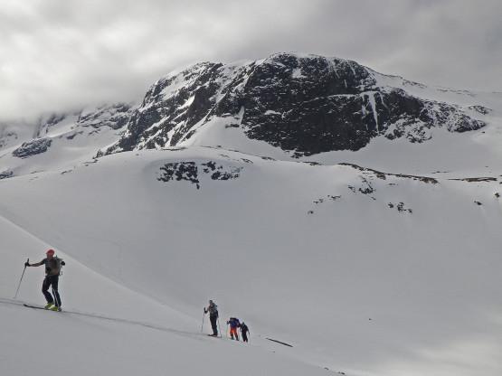 Giertvasstind 2351m, N face of E ridge. Hurrungane (West Jotunheimen), Norway
